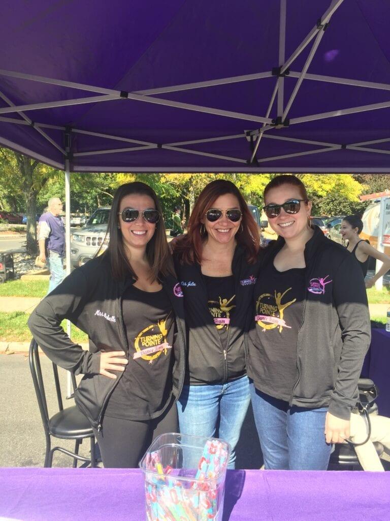 Julie, Michelle & Meg Street Fair